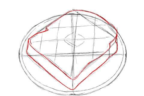 トーストの絵の描き方-初心者でも簡単なイラスト-10