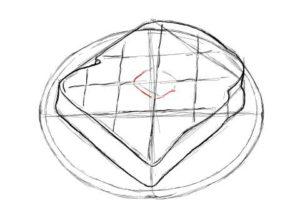 トーストの絵の描き方-初心者でも簡単なイラスト-12