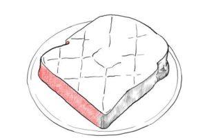 トーストの絵の描き方-初心者でも簡単なイラスト-17