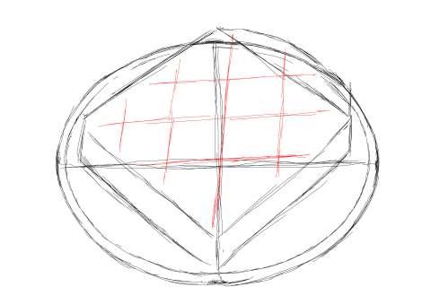 トーストの絵の描き方-初心者でも簡単なイラスト-7