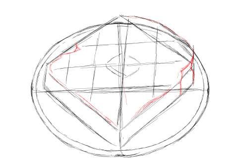 トーストの絵の描き方-初心者でも簡単なイラスト-9