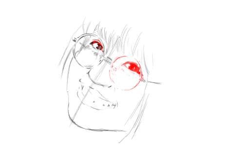 メガネの女性の絵の描き方-初心者でも簡単なイラスト10