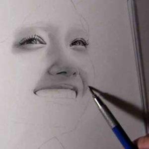 リアルな絵の描き方-ほうれい線の書き方10