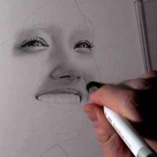 リアルな絵の描き方-ほうれい線の書き方11