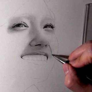 リアルな絵の描き方-ほうれい線の書き方9