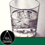リアルな絵の描き方-ウイスキーグラスの絵の書き方サムネイル