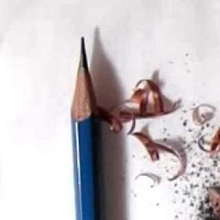 リアルな絵の描き方-カッターで鉛筆を削るコツ画像10