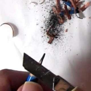 リアルな絵の描き方-カッターで鉛筆を削るコツ画像8