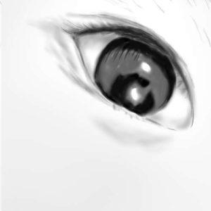 リアルな絵の描き方-分割した書き方12