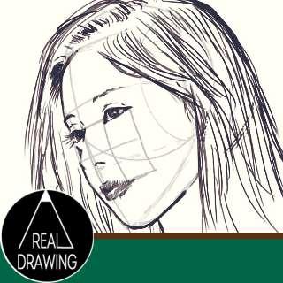 リアルな絵の描き方-顔のアタリの書き方Part3サムネイル