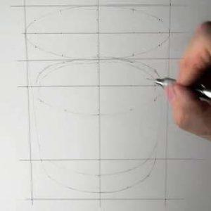 リアル絵の描き方-ウィスキーグラスの書き方-3
