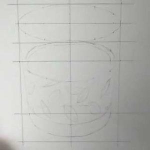 リアル絵の描き方-ウィスキーグラスの書き方-4