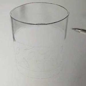 リアル絵の描き方-ウィスキーグラスの書き方11