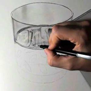 リアル絵の描き方-ウィスキーグラスの書き方17