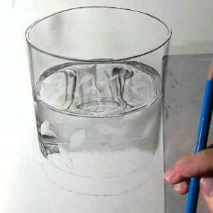 リアル絵の描き方-ウィスキーグラスの書き方21