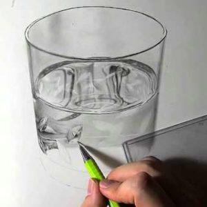 リアル絵の描き方-ウィスキーグラスの書き方22