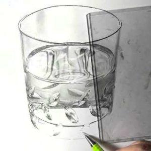 リアル絵の描き方-ウィスキーグラスの書き方23
