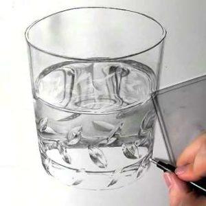 リアル絵の描き方-ウィスキーグラスの書き方24