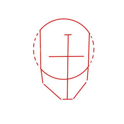 リアル絵の顔のアタリの描き方part2-画像4