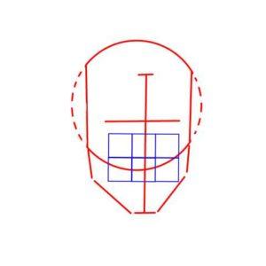 リアル絵の顔のアタリの描き方part2-画像6