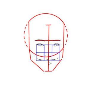 リアル絵の顔のアタリの描き方part2-画像7