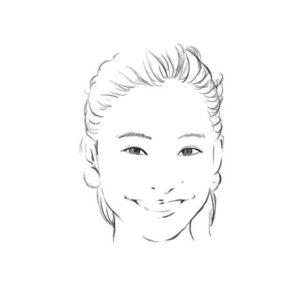 リアル絵の顔のアタリの描き方part2-画像9