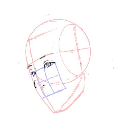 リアル絵の顔のアタリの描き方part3-画像10