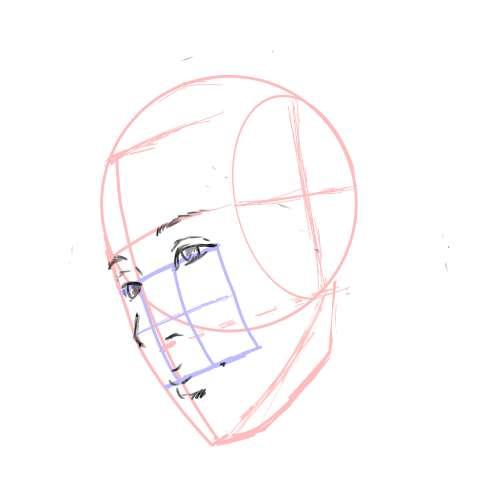 リアル絵の顔のアタリの描き方part3-画像11