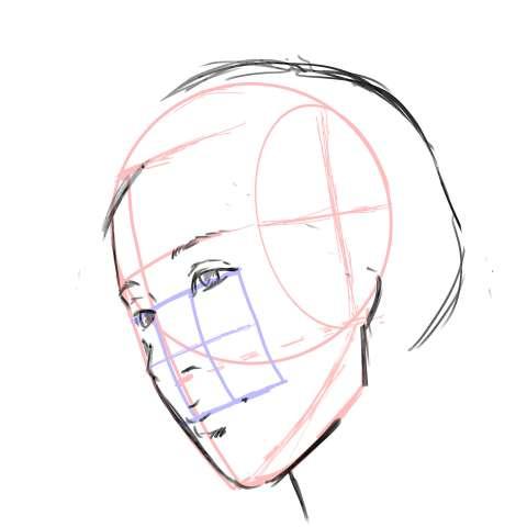 リアル絵の顔のアタリの描き方part3-画像13