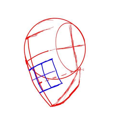 リアル絵の顔のアタリの描き方part3-画像8