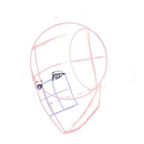 リアル絵の顔のアタリの描き方part3-画像9