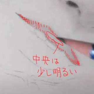 唇の絵の書き方-リアルな鉛筆画の描き方6-2