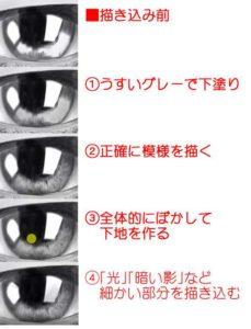 リアルな目の描き方vol2-9-3