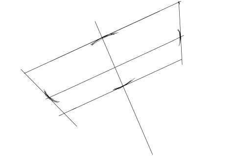 初心者でも簡単な傘の絵の描き方6