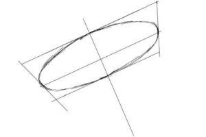 初心者でも簡単な傘の絵の描き方7