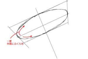 初心者でも簡単な傘の絵の描き方8