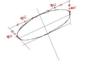 初心者でも簡単な傘の絵の描き方9