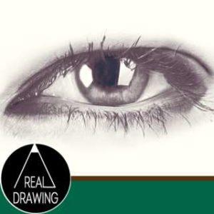 リアルな目の描き方Vol2サムネイル-セピア